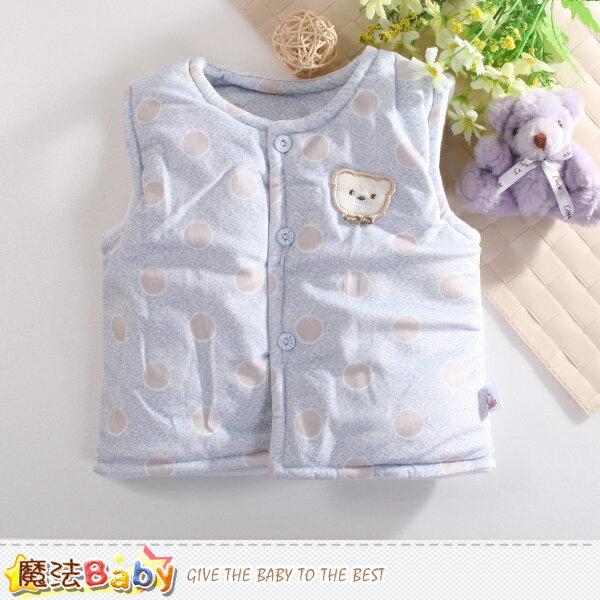 寶寶外套 嬰幼兒厚鋪棉保暖背心外套~k60392