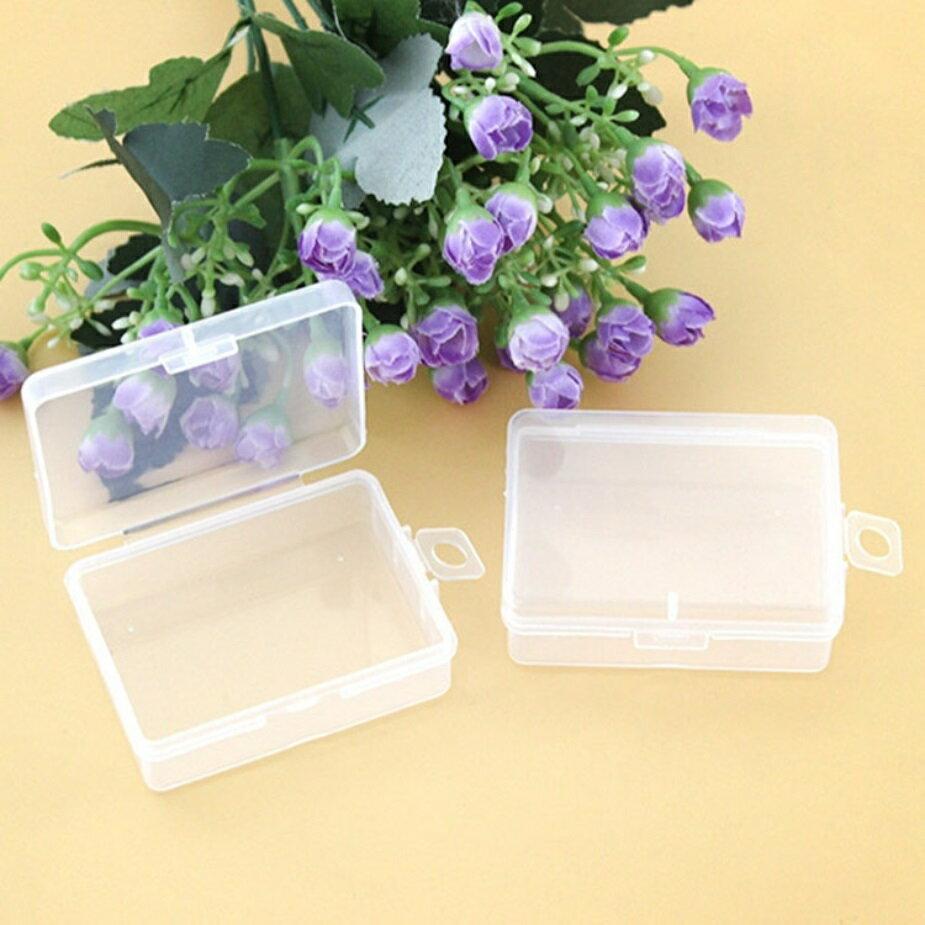 PS Mall 通用包裝盒小盒子收納盒透明塑膠盒【J1629】 3
