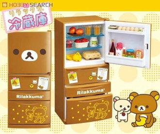日本代購預購 懶懶熊 拉拉熊 食玩 盒玩 公仔模型 冰箱 冷藏庫 719-018