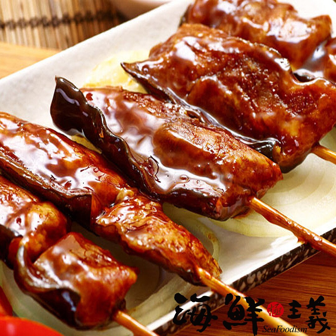 【海鮮主義】蒲燒鰻魚串(150g/袋) ●蒲燒鰻魚,肉質細嫩,甜鹹適中 ●色香味俱全的蒲燒鰻魚串 ●拆封加熱即可輕鬆品味