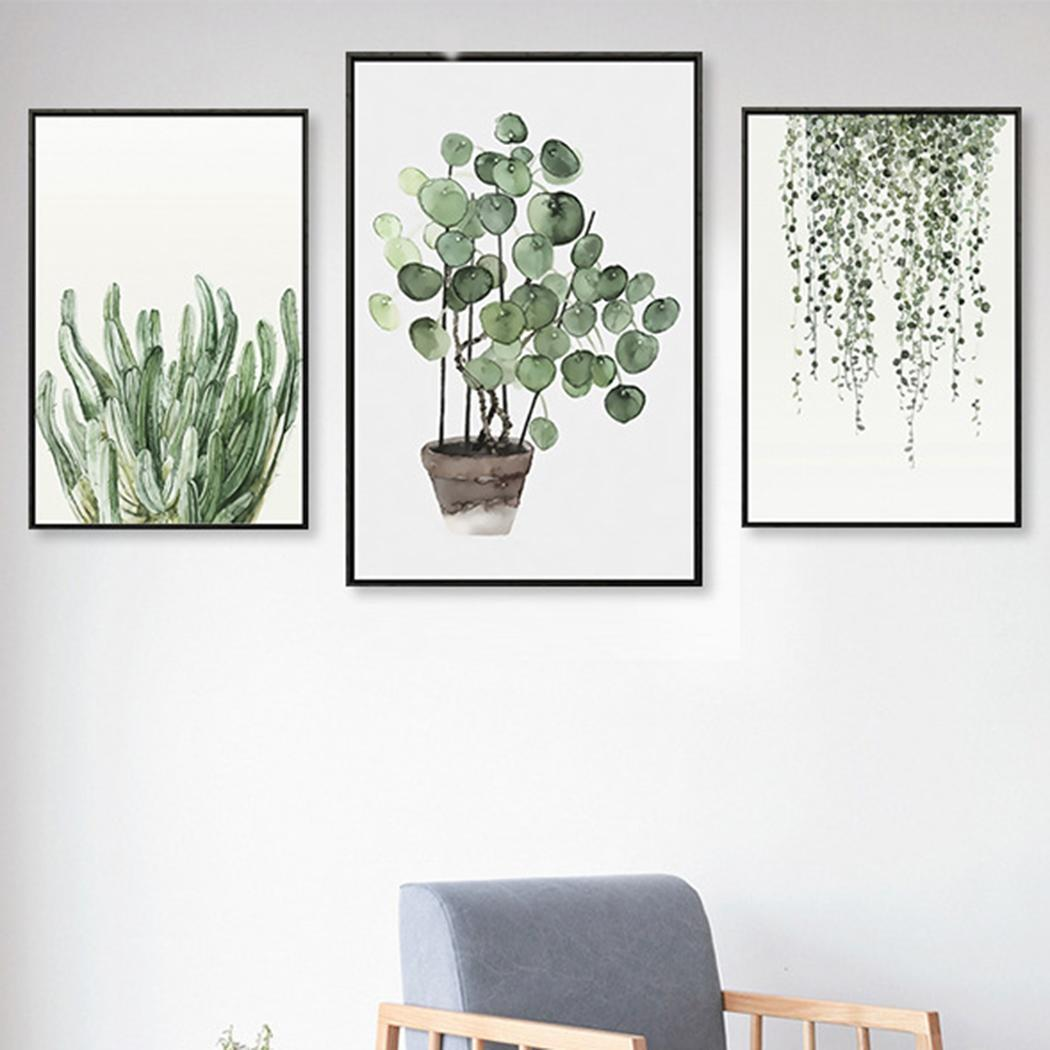 Plant Artwork Canvas Print Wall Art Home Wall Decoration 4