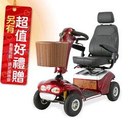 必翔 電動輪椅 TE-888SLB 電動代步車 P型把手款 贈 安能背克雙背墊