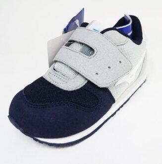 MIZUNO美津濃 童鞋 促進發育鞋墊 學步鞋 TINY RUNNER K1GD173207(灰/藍)[陽光樂活]
