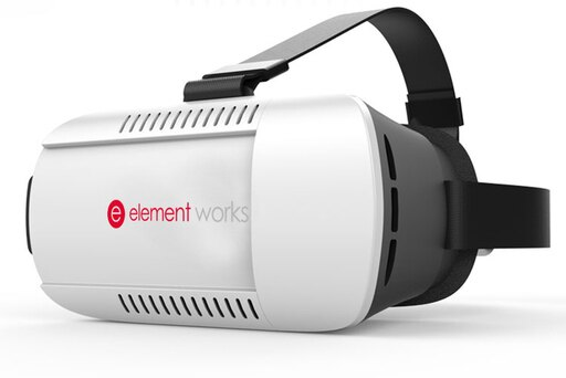 Virtual Reality Headset By Element Works - Fully Adjustable 3D VR Glasses For VR Headset Video Gaming 2dc897c2e3684edf9f579e6de5bad52a