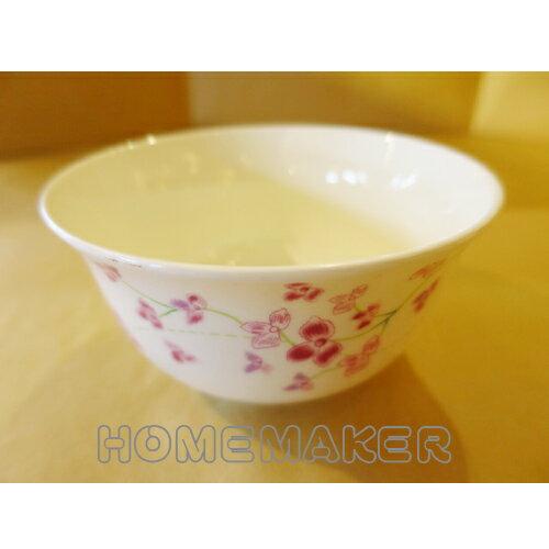 """紅色小花瓷碗4.5"""" _C-WG6021"""