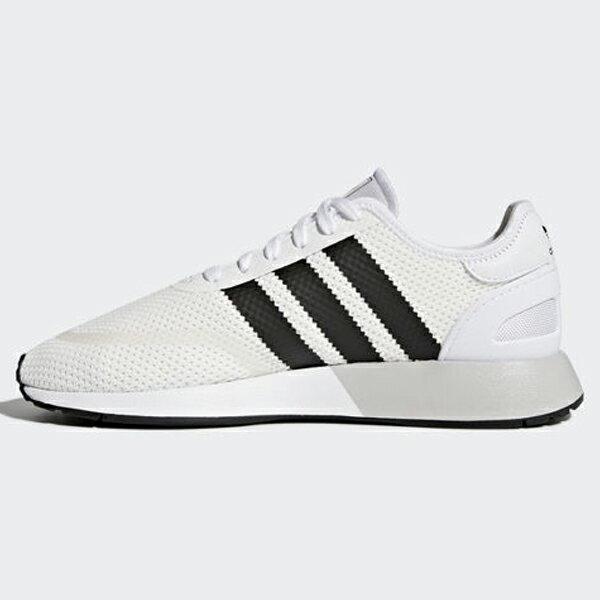 ADIDASORIGINALSN-5923男鞋女鞋休閒網布復古基本透氣白黑【運動世界】AH2159