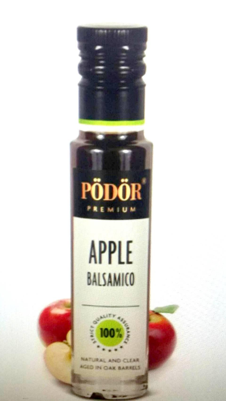 波多爾Podor~巴薩米克蘋果醋(清爽)100ml/罐