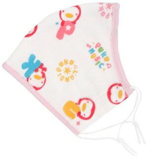 『121婦嬰用品館』PUKU 印花紗布口罩L -粉 0