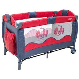 【淘氣寶寶】美國 欣康 多功能嬰幼兒遊戲床/小床/攜帶型-小丑魚 BS00903【附贈尿片架、睡墊】