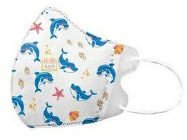 興安立體防塵口罩50入-幼童海豚 #幼童口罩