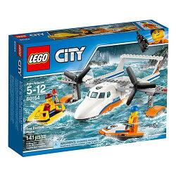 樂高積木 LEGO《 LT60164 》2017年CITY 城市系列 - 海岸巡防救援飛機