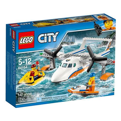 東喬精品百貨商城:樂高積木LEGO《LT60164》2017年CITY城市系列-海岸巡防救援飛機