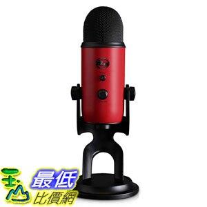 [8美國直購] 全新 兩年保固 Blue Yeti USB Microphone 專業電容式 麥克風 紅色