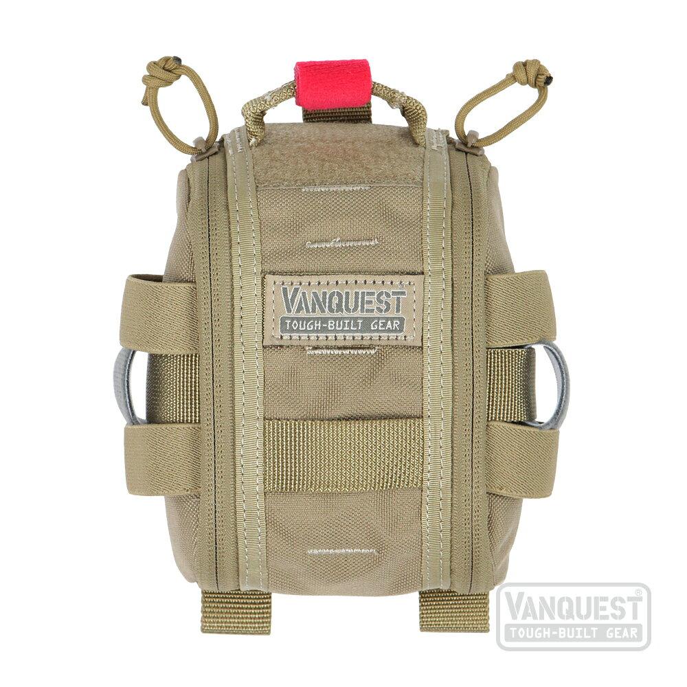 VANQUEST 戰術 生存 戶外 休閒 登山 露營 FATPACK 4×6(GEN 2): 急救創傷包 - 限時優惠好康折扣