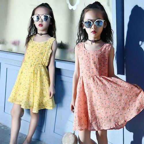 中大童短袖洋裝連身裙背心裙童裝MC32002好娃娃