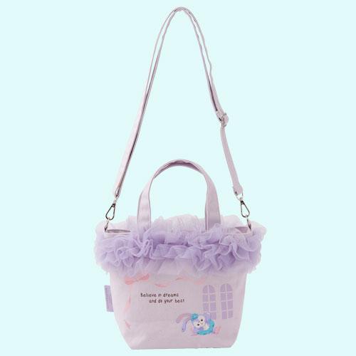 尼德斯Nydus 日本 東京迪士尼海洋限定 達菲熊 Duffy 史黛拉兔 Stella Lou 手拿包 包包 側背包 0