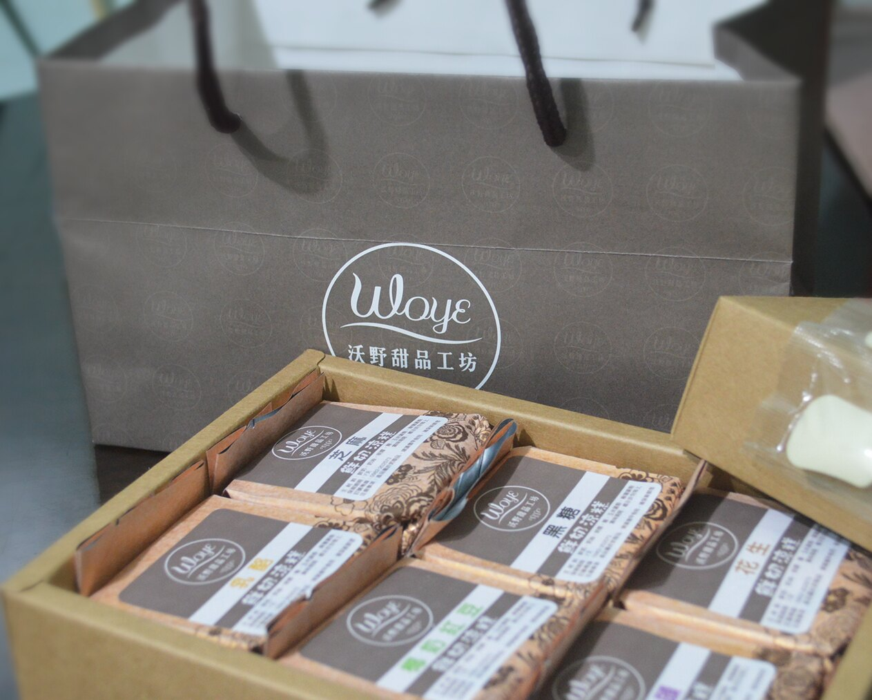 沃野甜品工坊 綜合-B 鮮奶涼糕(6入裝)