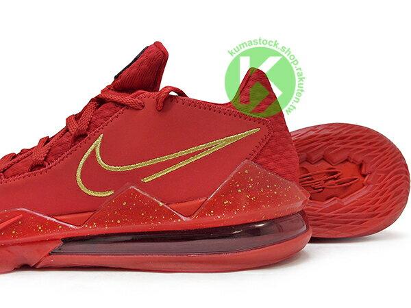 2020 NBA 最新款 LeBRON JAMES 最新代言 菲律賓 TITAN x NIKE LEBRON XVII LOW PH EP AGIMAT 17 JAMES 低筒 全紅 前 REACT 後超大 MAX AIR 氣墊 小皇帝 雷霸龍 KING LAKERS 頂級科技 籃球鞋 (CD5009-600) 0820 3