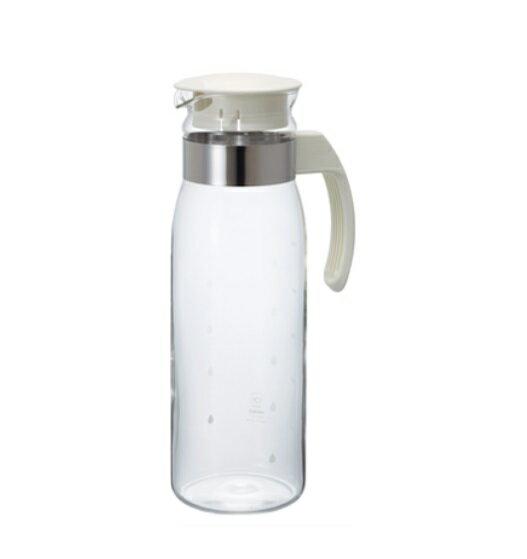 🌟現貨附發票🌟HARIO 耐熱玻璃冷水壺1400ml 白 RPLN-14 咖啡壺 玻璃壺 花茶壺 公杯 玻璃水瓶 冷水壺