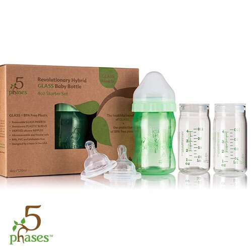 5phases菲斯 - 成長5階段環保雙層奶瓶 寶貝體驗組 0