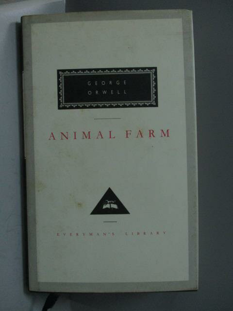 ~書寶 書T1/原文書_ONQ~Animal farm_George Orwell
