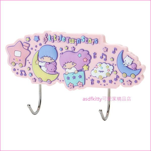 asdfkitty可愛家☆雙子星玩具車吸鐵式掛勾-可用於冰箱門.鐵門..等任何可吸住的地方-日本正版商品