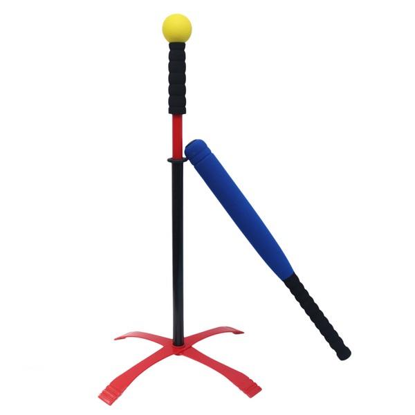 兒童專用 樂樂棒球套裝組 娛樂級(明盒) / 一組入 { 定399 }  樂樂棒球 安全棒球 棒球練習器~群 0