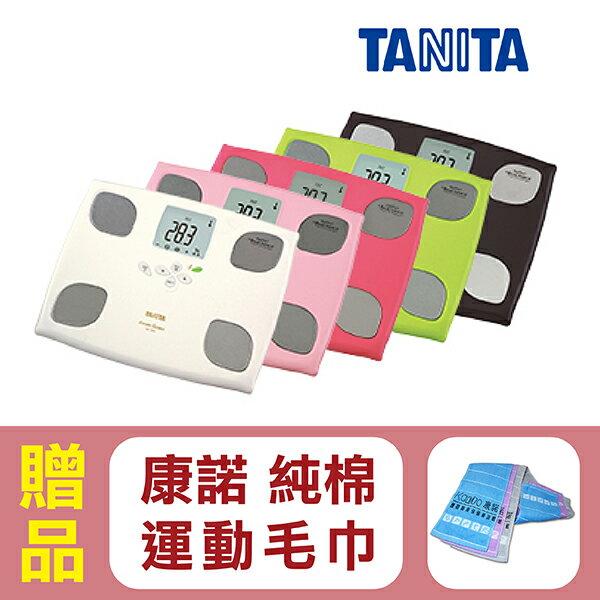 【日本TANITA】塔尼達 體組成計 體脂計 十合一女性減重模式體組成計BC-750,共5色,贈品:康諾純棉運動毛巾x1