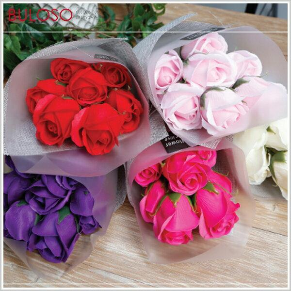 7朵香皂花捧花小花束玫瑰花肥皂禮品禮物情人節香氛(可挑色款)【A421791】