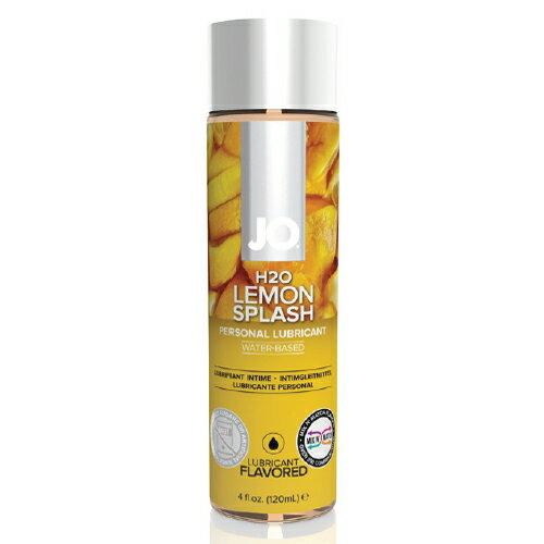 [漫朵拉情趣用品]美國JO*H2O水溶性潤滑液-檸檬口味 (可當口交液) 4 floz / 120 mL DM-9253223