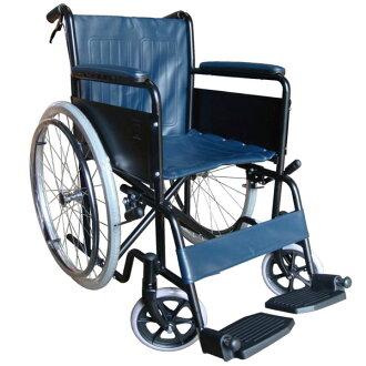 【醫康生活家】杏華 鐵製輪椅-烤漆雙煞OPBB