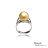 大東山珠寶 奢豪天際 南洋金珠頂級真鑽18K白金戒指 4