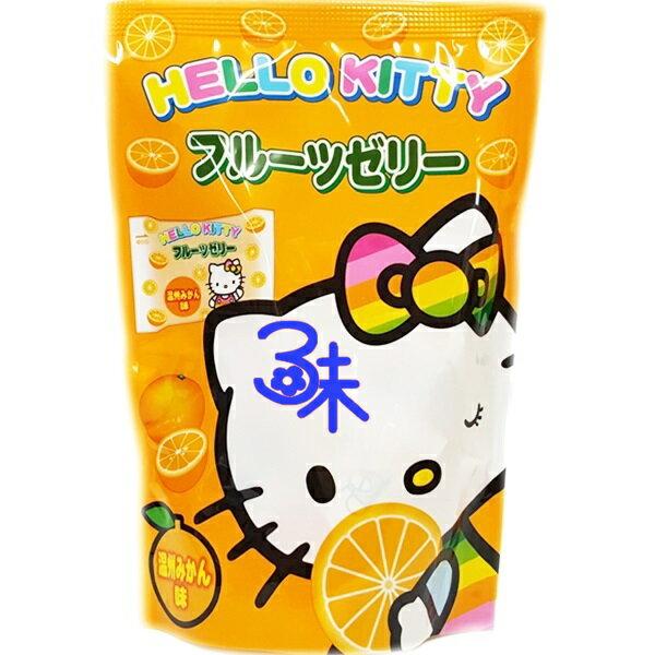 (日本) 浪速 凱蒂貓果凍- 桔子果凍 1包 130 公克 特價50元 【4902398700523 】浪速 Hello Kitty 橘子果凍