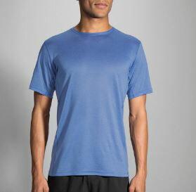 BROOKS(男)專利快乾輕量吸濕排汗短袖T恤BK211056429(藍)[陽光樂活]