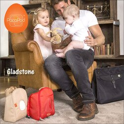 ✿蟲寶寶✿【英國PacaPod】部落客推薦!三合一時尚媽媽包 附配件分類小包 (贈尿布墊) - Gladstone