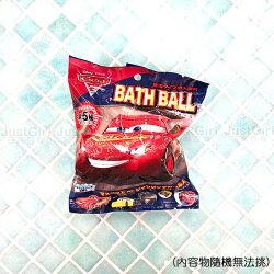 迪士尼 CARS 汽車總動員 麥昆 麥坤 沐浴球 泡澡球 泡澡沐浴球 入浴劑 一入 居家 正版日本進口 JustGirl