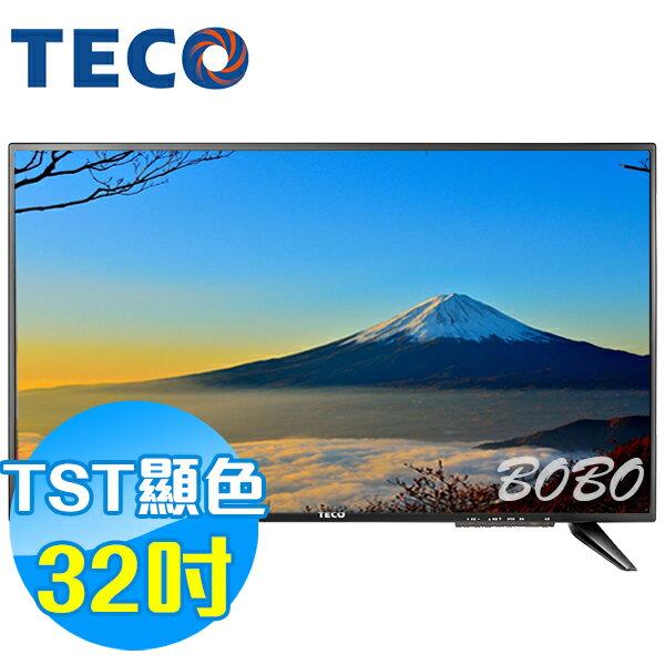 TECO東元 32吋 TL3211TRE LED液晶顯示器 液晶電視(含視訊盒)