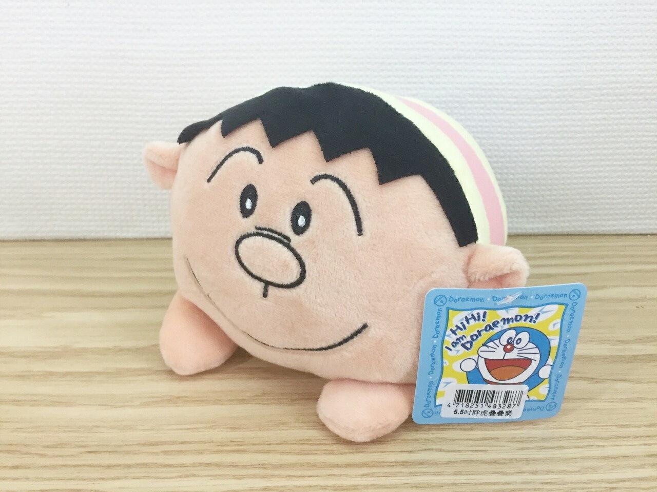 【真愛日本】15112300021 5.5吋TSUM疊疊樂-胖虎 多拉A夢 小叮噹 Doraemon 娃娃 公仔