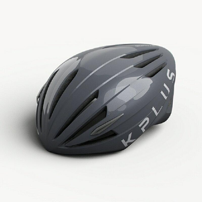 【7號公園自行車】KPLUS QUANTA系列公路競速專用安全帽(鐵灰)