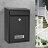 信箱 信報箱總經理郵筒收件箱家用掛壁報室外防水帶鎖歐式意見箱『TZ1000』 4