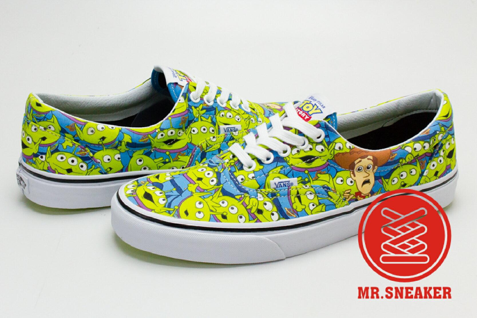 ☆Mr.Sneaker☆ VANS x Toy Story Era 玩具總動員 Aliens 三眼怪 夜光 綠 男女款