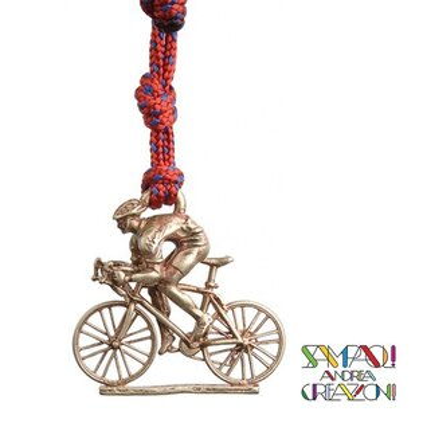 【SAC義大利】青銅掛飾吊飾-公路車義大利傳統飾品SAC204
