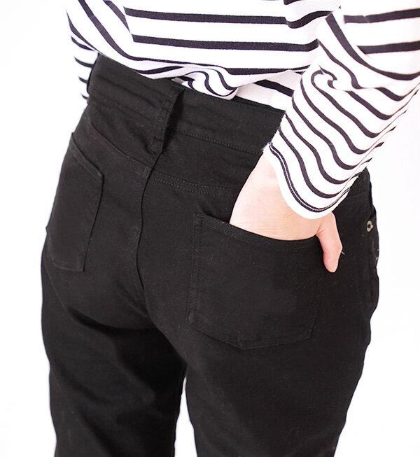 日本e-zakka / 素色彈力直筒長褲 / 33678-1801206 / 日本必買 代購 / 日本樂天直送(1800) 7