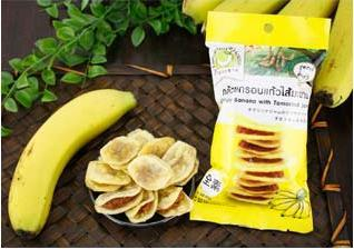 泰國*羅望子夾心香蕉脆片40g