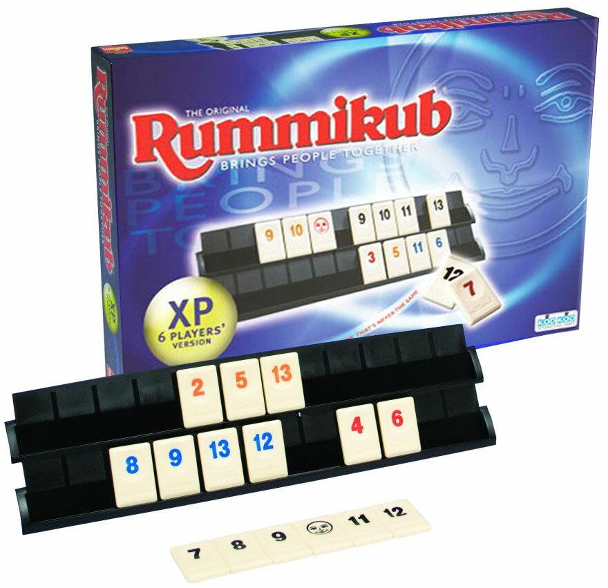 【瘋桌遊】拉密XP六人家庭版│Rummikub XP 6 Players│輕策略遊戲│繁體中文桌上遊戲