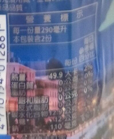 黑松 FIN健康補給飲料(580ml*4瓶/組) [大買家]