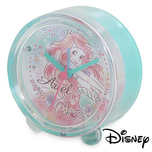~ ~小美人魚 Ariel 愛麗兒 迪士尼系列 鬧鐘 鐘 指針時鐘 燈光 Disney ~