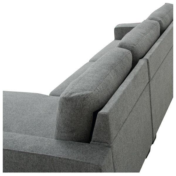 ◎布質左躺椅L型沙發 CASAREDO NITORI宜得利家居 6