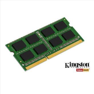 *╯新風尚潮流╭*金士頓筆記型記憶體 8G 8GB DDR3-1600 低電壓 1.35V KVR16LS11/8