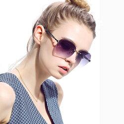 Posma SGC-072-SKY 閃亮有型★女用旅遊鑽石切邊無框太陽眼鏡